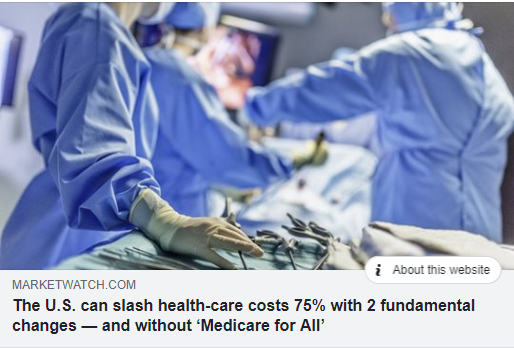 Two Proven Ways to Cut Health Care Costs by 75%