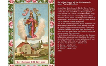 St. Corona, Patroness Against Plagues and Epidemics