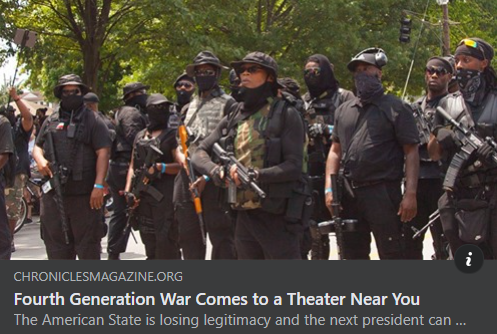 Fourth Generation War Comes to a Theater Near You